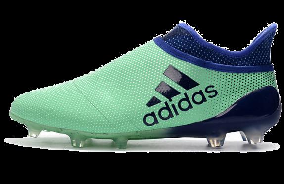 Фото Adidas X 17+ Purechaos FG blue - 3