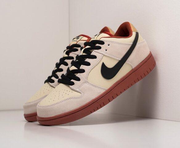 Nike SB Dunk Low белые