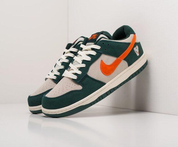 Nike SB Dunk Low зеленые